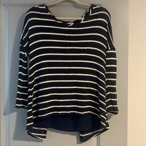 Charming Charlie stripe sweater